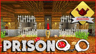 PRISON/ JAIL CELL - Minecraft Redstone Tutorial ( How To ) Ps3/Ps4/Xbox/Mcpe (Medieval)