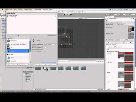 28- Unity 2D|| build Android APK  تنزيل اللعبة على الهاتف