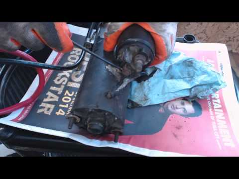 Mercedes Benz Starter Solenoid Issues. Part-1, Video 26