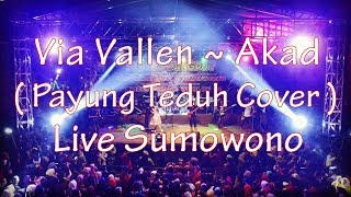 Video Via Vallen  ~ Akad ( Payung Teduh Cover ) SERA live Sumowono MP3, 3GP, MP4, WEBM, AVI, FLV Oktober 2017