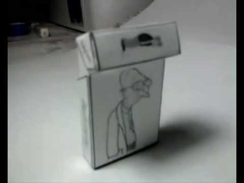 Самодельный спичечный коробок