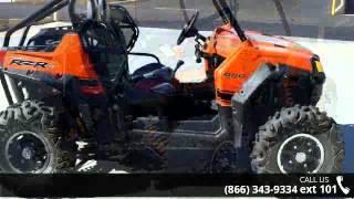 6. 2011 Polaris Ranger RZR 800 S Black / Orange Madness LE  ...