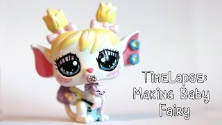 Timelapse: Making Baby Fairy LPS Custom