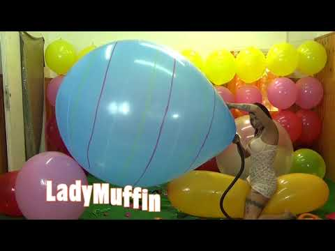 Brazilian jumbo balloon b2p blow 45+ inch looner (видео)