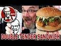 KFC 🍗 DOUBLE TENDER SANDWICH $5 Fill Up | Mountain Dew Baja Blast