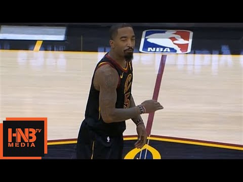 JR Smith Gets Technical Foul / Cavaliers vs Kings