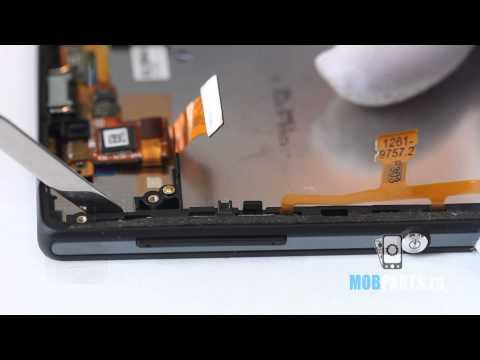 Sony Xperia ZL как разобрать, ремонт и сборка Xperia ZL (видео)