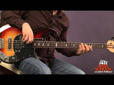 Bass Guitar Lessons with John Patitucci: Major Arpeggios with Inversions