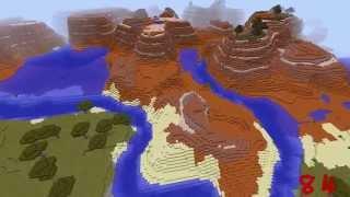 Minecraft World Generator Seed = 84