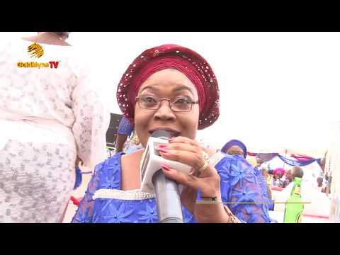 DAYO KUJORE'S PERFORMANCE AT THE BURIAL CEREMONY OF PA OGUNDIPE RECEPTION
