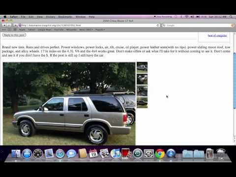 Craigslist Cars For Sale In Kalamazoo Michigan