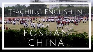 Foshan China  city pictures gallery : Andrea in Foshan (China Teaching Experience)