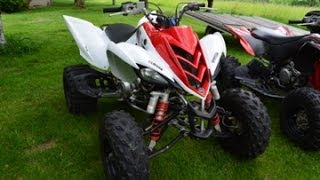 9. 2011 Yamaha Raptor 700r Walk Around