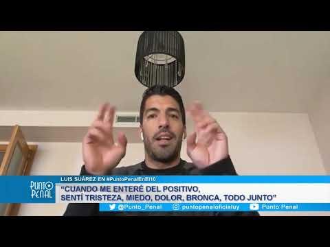 LUIS SUAREZ EN PUNTO PENAL. HABLAMOS CON EL DELANTERO DE LA SELECCIÓN URUGUAYA Y ATLÉTICO DE MADRID.