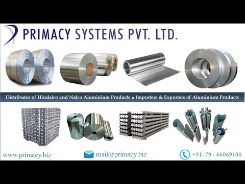 Aluminium Coils, Sheets, Plates, Foils & Various Products by www.primacy.biz