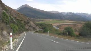Arthur's Pass New Zealand  City new picture : A beautiful drive through Arthur's Pass, the most scenic drive in New Zealand. In 1080p HD