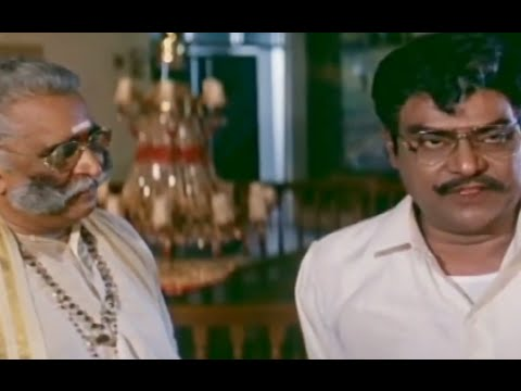 Alluda Majaka Movie Scenes - Kota Srinivasa Rao reveals his real intention - Chiranjeevi