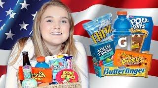 Video ULTIMATE British Girls Trying American Candy! MP3, 3GP, MP4, WEBM, AVI, FLV Juli 2018