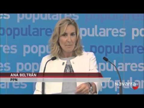 Ana Beltrán presenta la primera proposición de ley foral de esta legislatura, de apoyo integral de la familia