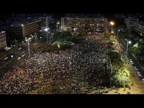 Israel: Zehntausende protestieren gegen Nationalsta ...