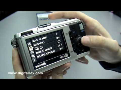 Olympus Pen E-P1 First Impression Video by DigitalRev