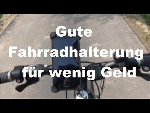 Gute Fahrradhalterung für wenig Geld/Review