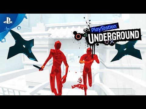 Superhot VR Gameplay - PlayStation Underground | PS4
