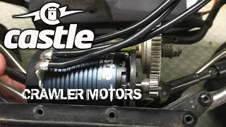 little update on things with a focus on Castles new Mamba X ESC and Slate crawler motors.