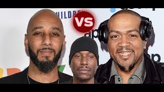 Swizz Beats CLOWNS Tyrese Producer trying to get in Timbaland Battle 'Sounds Like a Hanes COmmercial PLEASE SUPPORT ...
