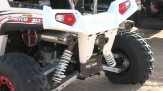 10. Polaris RZR/S with Two Brothers Racing Triple Exhaust System