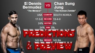 Nonton UFC FIGHT NIGHT 104: Predictions Dennis Bermudez vs Chan Sung Jung (UFC HOUSTON PREVIEW) Film Subtitle Indonesia Streaming Movie Download