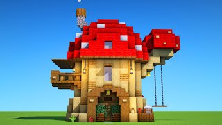 NEXT LEVEL SURVIVAL! How to build an AWESOME SURVIVAL HOUSE in Minecraft!