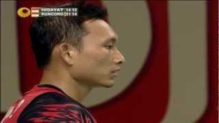 Video R16 - MS - Sony Dwi Kuncoro vs Taufik Hidayat - 2012 Djarum Indonesia Open MP3, 3GP, MP4, WEBM, AVI, FLV Agustus 2018