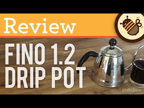 REVIEW: Fino Miya 1.2L Coffee Drip Pourover Kettle / Pot for Pour Over Coffee - Unboxing