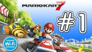 Mario Kart 7 3DS / Online - Mario Kart 7 3DS / Online: Daisy Hills, Rainbow Road, Bowser's Castle, A