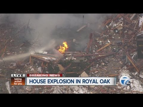 House explosion in Royal Oak phone interview