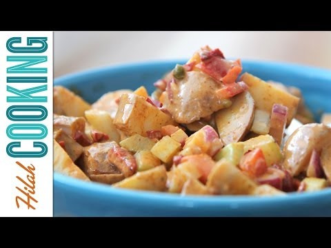 Spicy Potato Salad |  Hilah Cooking