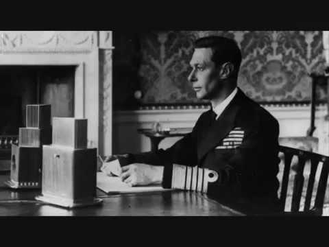 King George VI - D-Day Speech, 6 June 1944.