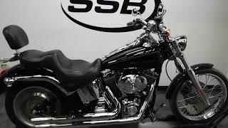 6. 2005 Harley Davidson FXSTDI Softail Deuce– used motorcycles  for sale– Eden Prairie, MN