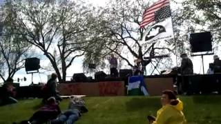 Dorli Rainey speaks at #A15 Occupy Hanford