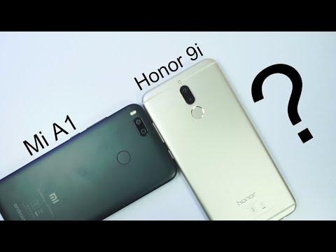 Mi A1 vs Honor 9i Comparison