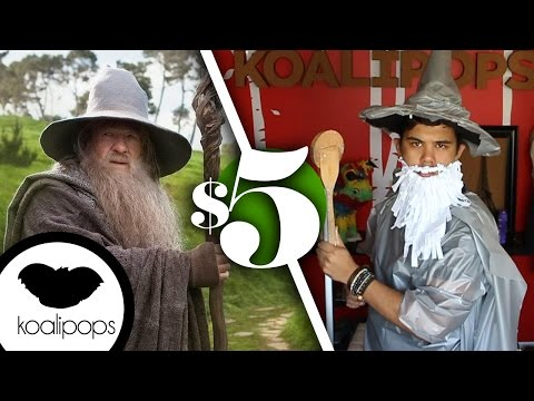 The Hobbit: Gandalf the Grey  | 5$ Costume | How To