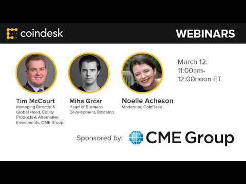 The Future of Futures - Webinar by CoinDesk video