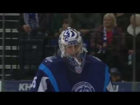 KHL Top 10 Saves for Week 10 / Лучшие сэйвы десятой недели КХЛ (видео)