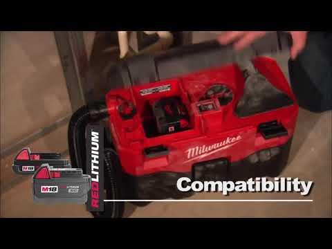 Видео Пылесос Milwaukee M18 VC-0