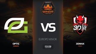 OpTic vs 3DMAX, mirage, Europe Minor – FACEIT Major 2018