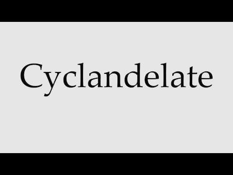 How to Pronounce Cyclandelate