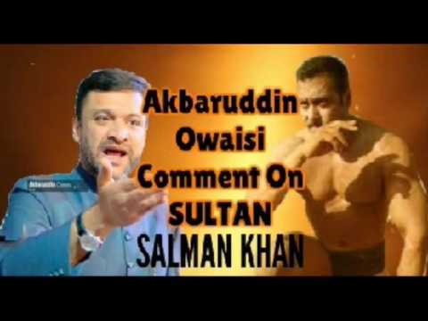 Video Akbaruddin Owaisi Solid Comment On *SULTAN* Salman Khan In Hyderabad download in MP3, 3GP, MP4, WEBM, AVI, FLV January 2017