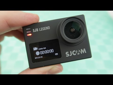 SJCAM SJ6 Legend Моя новая экшн камера Тест видео 📸