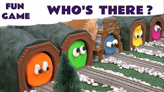 Play Doh Surprise Egg Shapes Guess The Engines 5 Thomas The Tank Play-Doh Thomas Tank Kids Toy